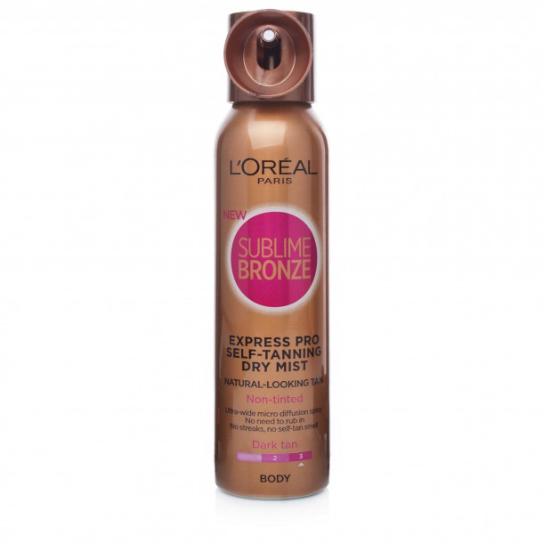 loreal sublime bronze instructions