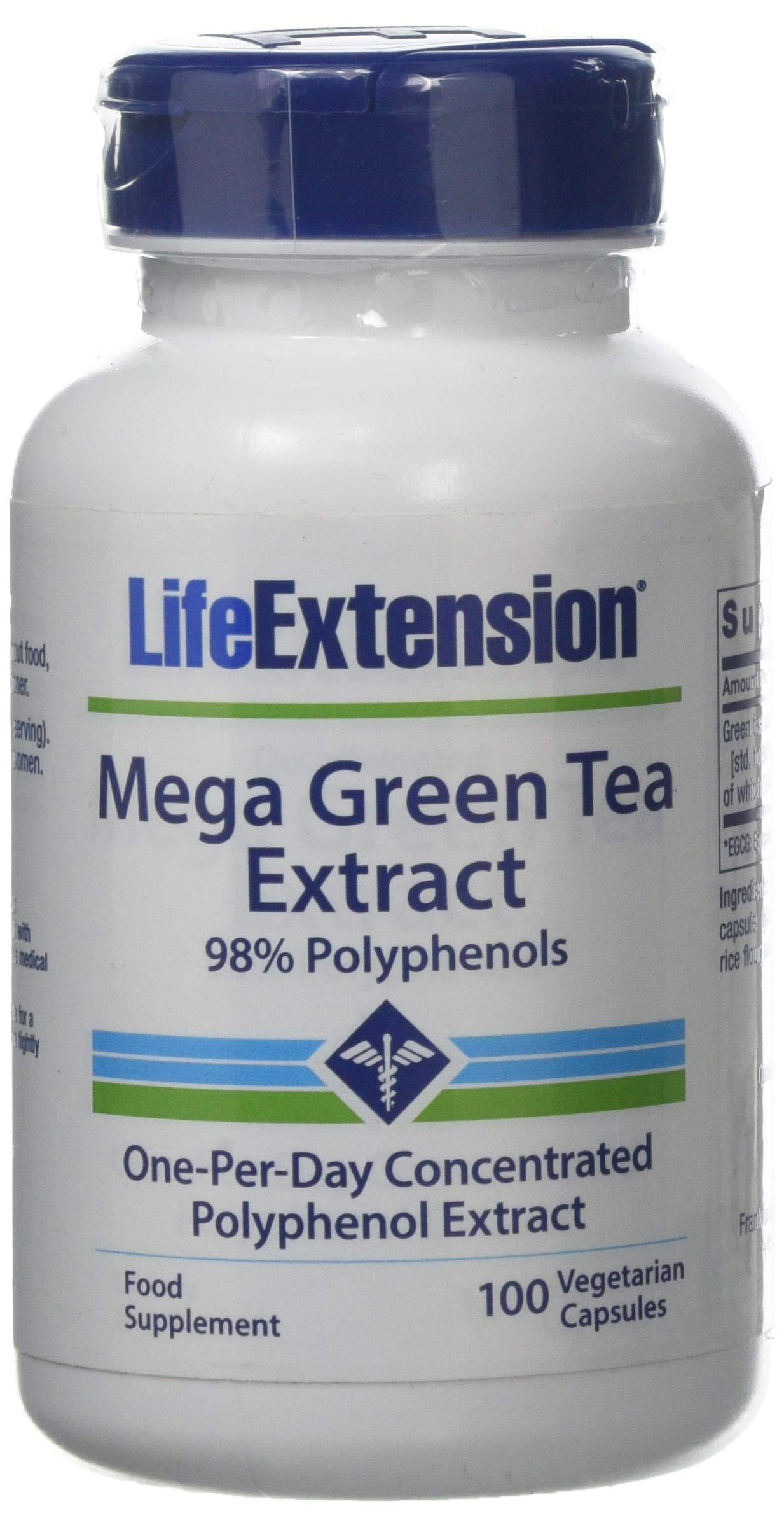 mega green tea pills instructions