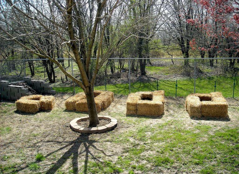 organic straw bale gardening instructions