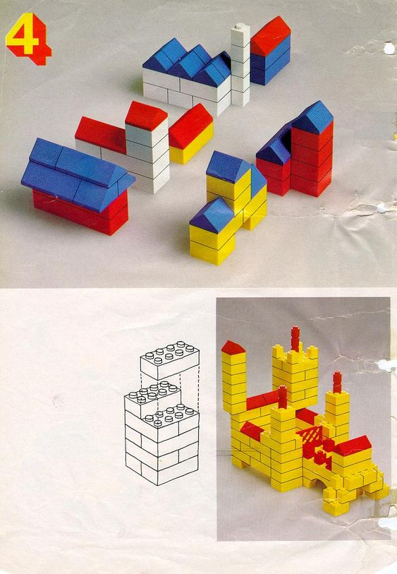 simple lego instructions for a car