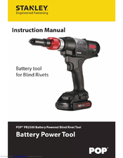 stanley pop rivet gun instructions
