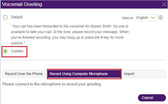 telus voicemail instructions change greeting